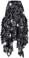 Gracie Star Print Midi Skirt