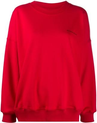 Styland NotRainProof oversized cotton sweatshirt