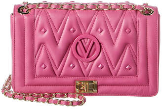 Mario Valentino Valentino By Alice D Sauvage Studs Leather Shoulder Bag