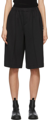 Issey Miyake Black Fit Shorts