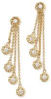 Roberto Coin 18K Yellow Gold New Barocco Diamond Drop Earrings