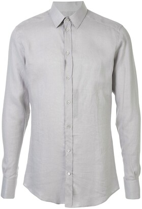 Dolce & Gabbana Fitted Tailored Shirt