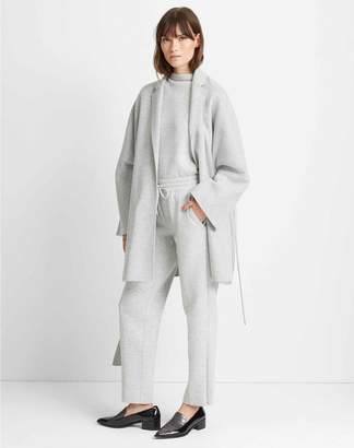 Club Monaco Double-Faced Wrap Coat