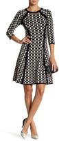 Taylor Knit Contour Fit & Flare Dress