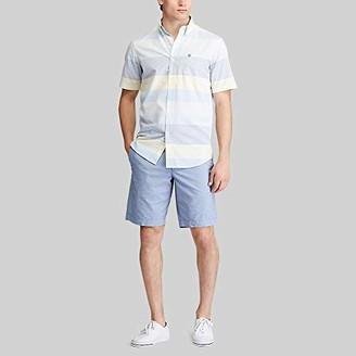 Chaps Men's Regular-Fit Short Sleeve Wrinkle Resistant Performance Sportshirt
