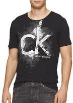 Calvin Klein Jeans Pixel Puff Crew Neck Tee