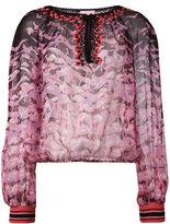 Giamba printed blouse - women - Silk/Cotton/Polyamide/Viscose - 42