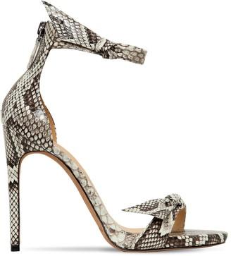 Alexandre Birman 105mm Clarita Python Sandals