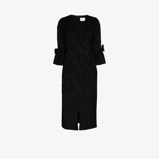 Erdem Ninetta jacquard dress