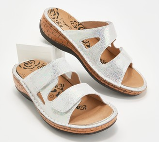 Propet Leather Two Band Sandals - Joelle