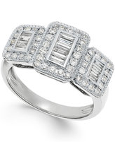 Effy Diamond (5/8 ct. t.w.) 14k White Gold Ring