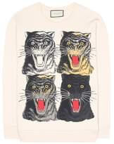 Gucci Printed cotton sweatshirt