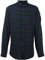 DSQUARED2 checked flannel shirt - men - Cotton/Lyocell/Viscose - 50