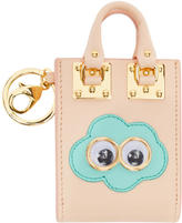 Sophie Hulme SSENSE Exclusive Pink Cloud Albion Tote Keychain