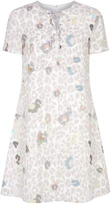 Ted Baker Ciad A-Line Scatter Print Dress