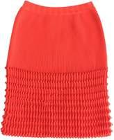 Maison Rabih Kayrouz Orange Wool Skirts