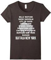 Women's Buffalo NY Shirt New York WNY Beer Wings Sports Snow Large