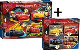 Very Twin Pack - Cars 3 6894 4 in a box 6891 4 Shaped