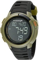 Freestyle Unisex 10019178 Mariner Digital Green Watch with Black Band