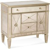 Bassett Mirror Company Borghese Mirrored Library Accent Table