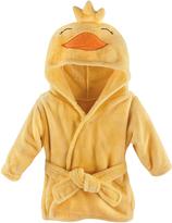 Hudson Baby Yellow Duck Plush Hooded Bath Robe
