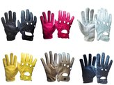 SI Genuine Leather Women Ladies Girls Unlined Driving Gloves Snug Fit