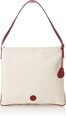 Timberland Women's TB0M5563 Shoulder Bag Off-White