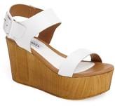 Steve Madden Women's Shiloh Platform Wedge Sandal