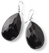 Ippolita 925 Rock Candy Large Pear Earrings in Onyx