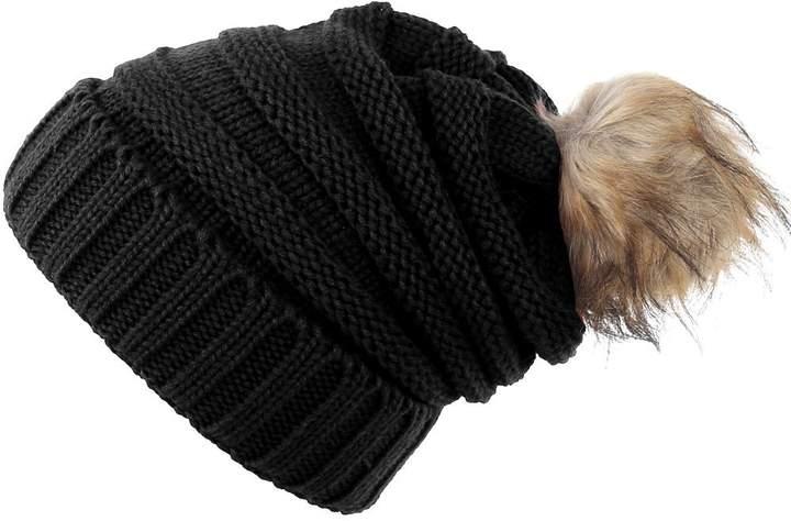 4c813ce25e0c7d Black Slouchy Beanie - ShopStyle Canada