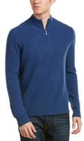Brooks Brothers Mock Neck Cashmere Sweater.