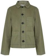 "Oasis Authentic utility jacket [span class=""variation_color_heading""]- Khaki[/span]"