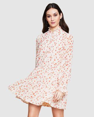 Ids Portia High Neck Dress