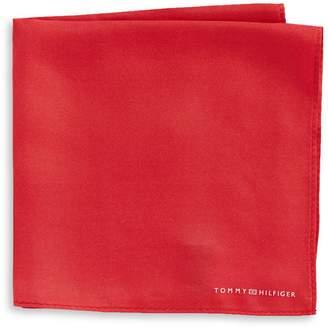 Tommy Hilfiger Solid Silk Pocket Square