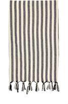 Madeline Weinrib Hammam Towel-BLACK
