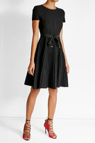 Salvatore Ferragamo Virgin Wool Dress with Bow