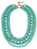 BaubleBar Women's 'Globe' Multistrand Beaded Necklace
