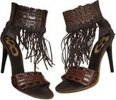 Roberto Cavalli Crocodile Sandals