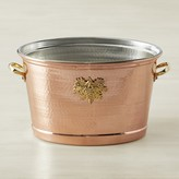 Ruffoni Historia Copper Decor Oval Wine Bucket
