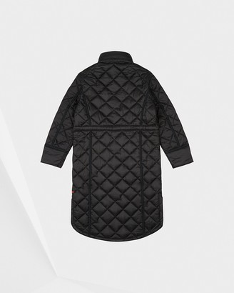 Hunter Women's Refined Insulated Quilted Long Coat
