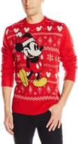 Disney Men's Mickey Sweater RD Sweater