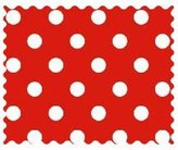 Camilla And Marc SheetWorld Primary Polka Dots Woven Fabric - By The Yard - 101.6 cm (44 inches)