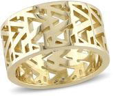 V1969 Italia 18K Gold-Plated Sterling Silver Open Work Ring