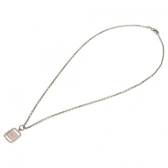 Salvatore Ferragamo Silver Metal Necklaces