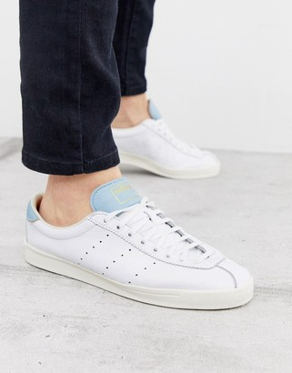 adidas Lacombe leather sneakers white