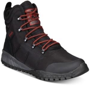 Columbia Men's Fairbanks Omni-Heat Waterproof Boots Men's Shoes