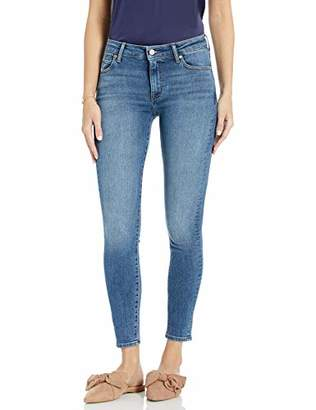 The Drop Women's Venice Mid Rise Ankle Skinny Jean