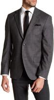 Ike Behar Notch Collar Wool Sport Coat