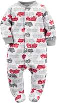 """Carter's Baby Boys' """"Ladder Company"""" Footed Coverall"""