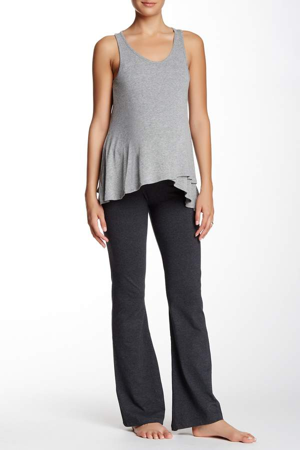 Electric Yoga Foldover Essential Pants (Maternity)